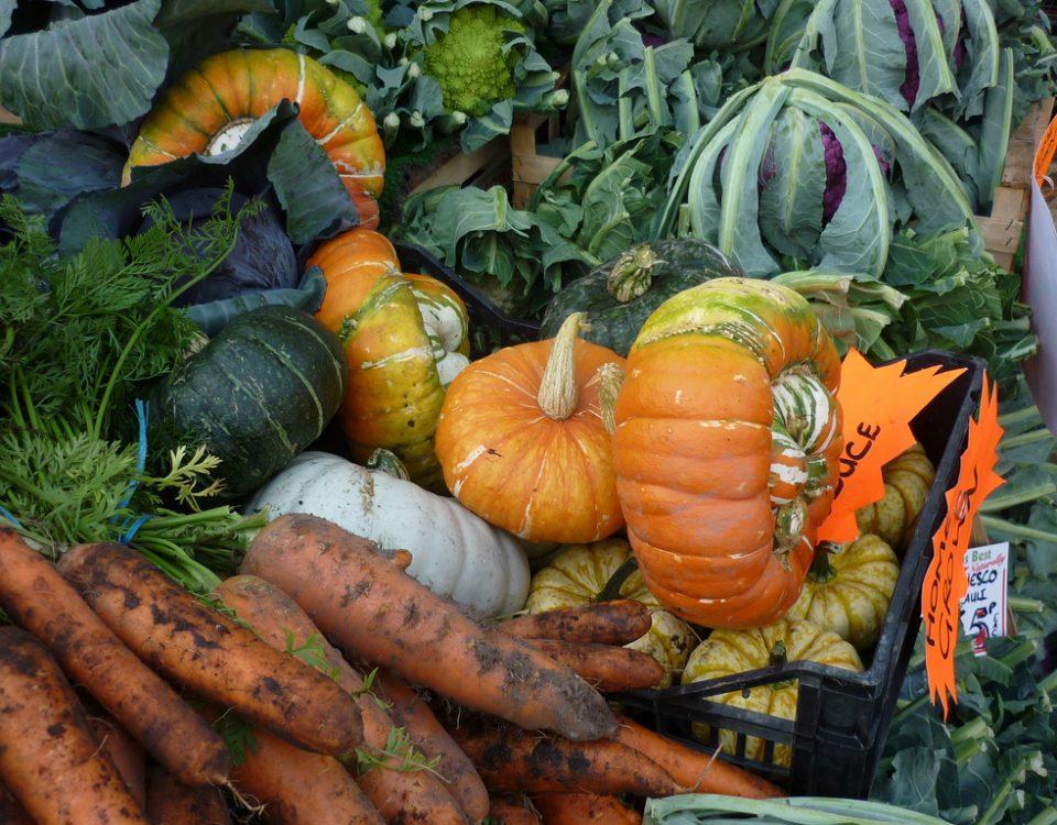 Market vegetables. Photo © richardoyork @ Flickr